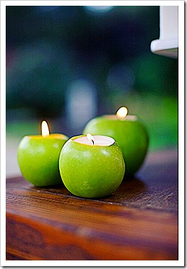 Apple Candles 2