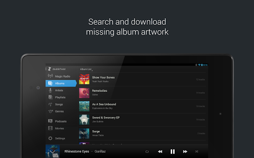 doubleTwist Music & Podcast Player with Sync 3.3.5 screenshots 10