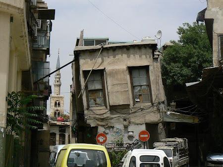 Obiective turistice Siria: casa stramba in Damasc