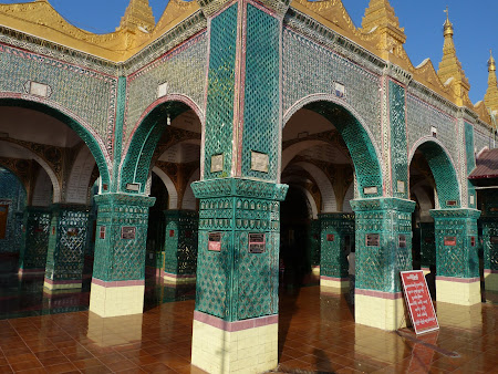 Obiective turistice Myanmar: Mandalay Hill