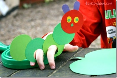 Very Hungry Caterpillar Finger Puppet