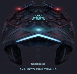 XViS mmW brain wave transmitter