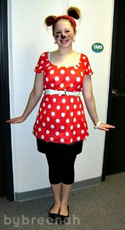 Minnie Mouse  bybreenah.blogspot.com201210costume-time.html