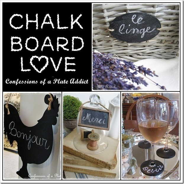 CONFESSIONS OF A PLATE ADDICT Fun Ways to Use Chalkboards