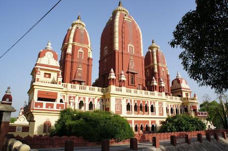 Obiective turistice India: Birla temple Delhi