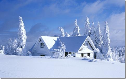 imagini craciun-peisaje de iarna
