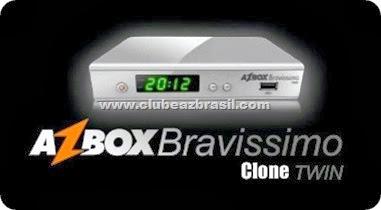 Tutorial Transforme seu Azbox Bravissimo Twin (Clone) - em Original