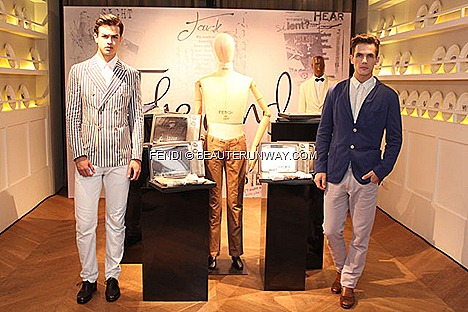 Fendi Men 2012 Spring Summer Collection Jacket Pants Shoes Five Senses t-shirt