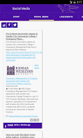 Screenshot of Kansas Wesleyan Coyotes