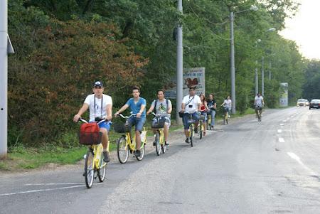 Brand turistic Romania: Pe biciclete la Sibiu