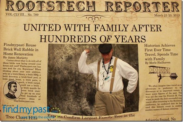 rootstech 2013的祖先内幕