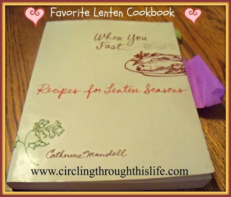 Cover of my favorite Lenten Cookbook