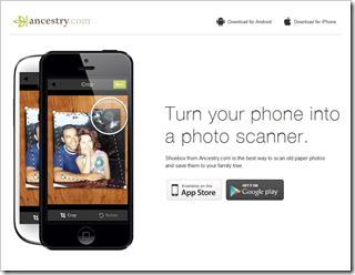 Ancestry.com... revamps Shoebox app