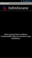 Screenshot of DefimDonator