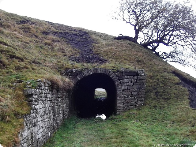 a tunnel