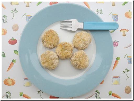 Preferenza Mammarum: Polpette di pollo e verdure per bambini (e non, come al  YR86