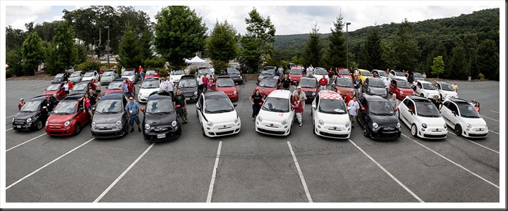 Fiat FreakOut - FIAT 500 Drivers Panorama
