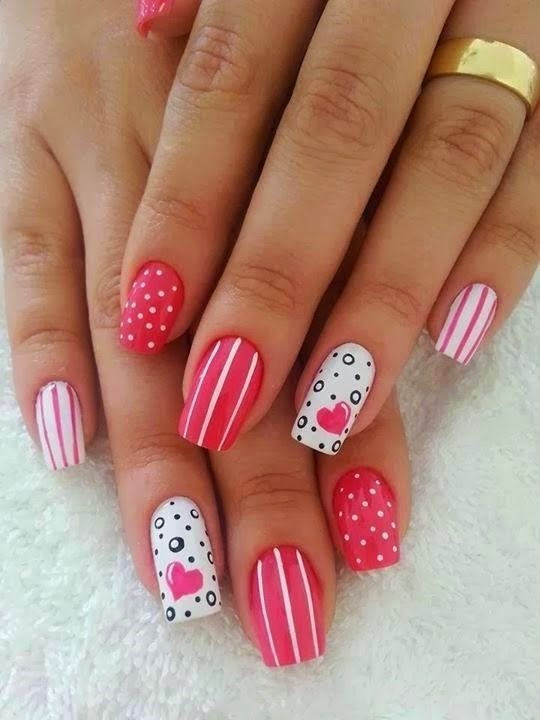Easy nail art ideas for kids for beginner - Fashion 2D