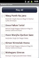 Screenshot of Sikh Sangeet