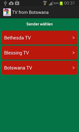 TV from Botswana