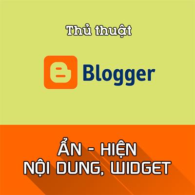 Cách tùy chỉnh widget hiển thị trong Blogspot bằng CSS