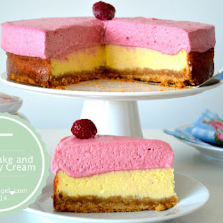 Cheesecake and Raspberry Cream