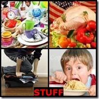 STUFF- 4 Pics 1 Word Answers 3 Letters
