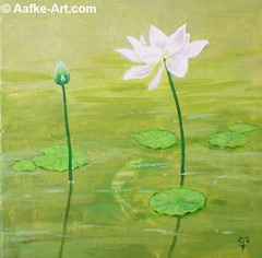 painting-lotus-pasadena-huntington-aafke-art