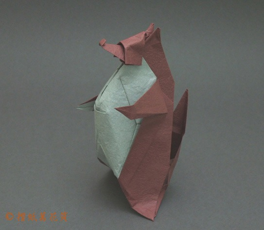 Handmade Origami Made Colored Paper By Stock Photo (Edit Now ... | 474x543