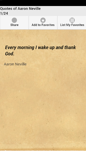 Quotes of Aaron Neville
