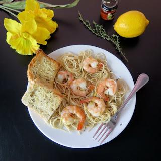 Honey Lemon Shrimp #SundaySupper.