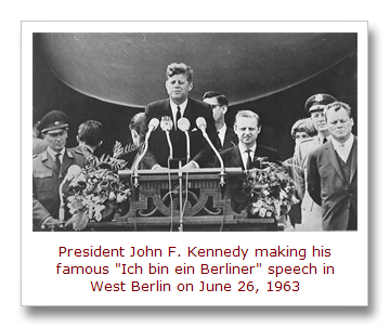 Image result for president jf kennedy visited west berlin