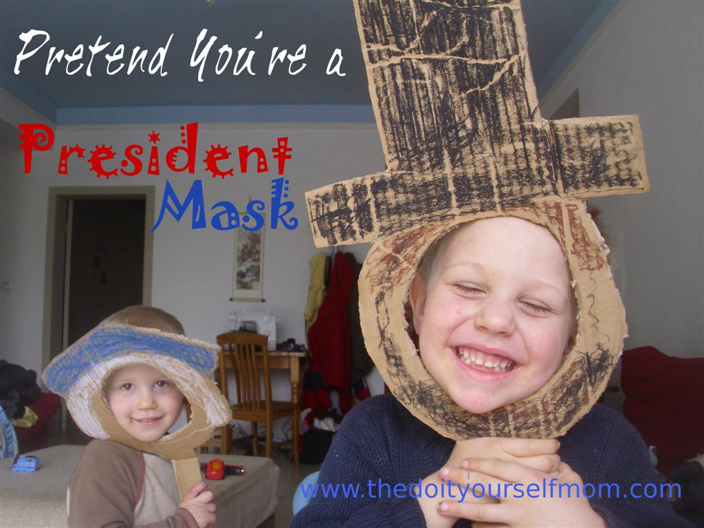 the doityourself mom presidents day preschool activity