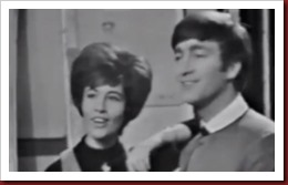 Helen Shapiro with a young John Lennon