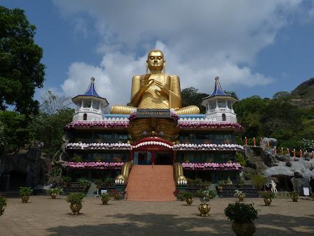 Imagini Sri Lanka: Templul de la Dambulla