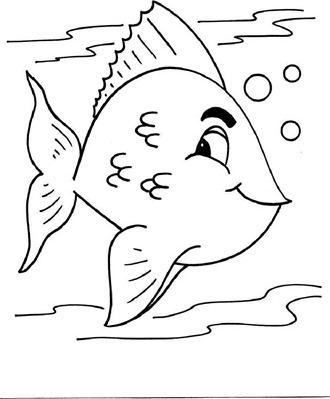 Desenhos Para Colorir De Peixes Desenhos E Riscos