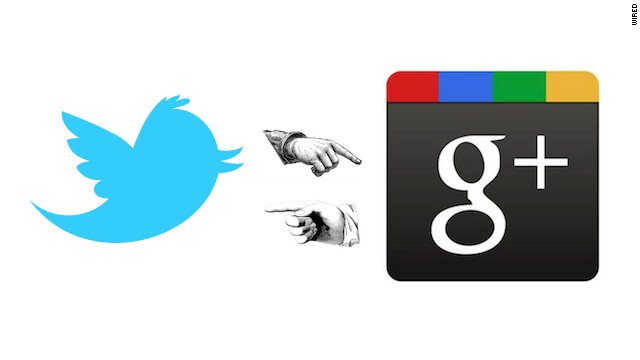 Que cosas tiene Google plus que Twitter no tiene
