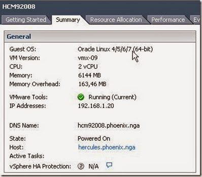On The Peoplesoft Road: VMWare ESXi vSphere 5 5 update 2 and