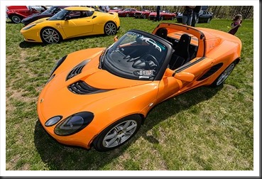 2005 Lotus Elise owned by Chad Colfer