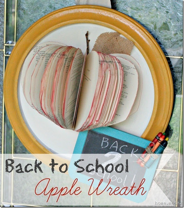home.made. Back to School Apple Wreath_thumb[2]