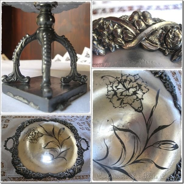 CONFESSIONS OF A PLATE ADDICT Using Vintage Silver in Country French Décor