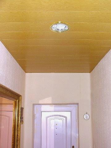 Falsos techos de aluminio madera