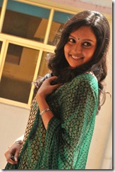Actress Mahima Nambiar Cute Stills in Churidar Dress