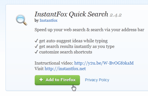 friefox instantfox search-01
