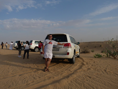 Dubai Desert Safari: la plecare in safari