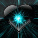 Shiny Heart Battery HD 2x2 icon