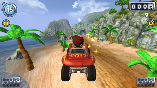 Beach Buggy Racing para iOS y Android