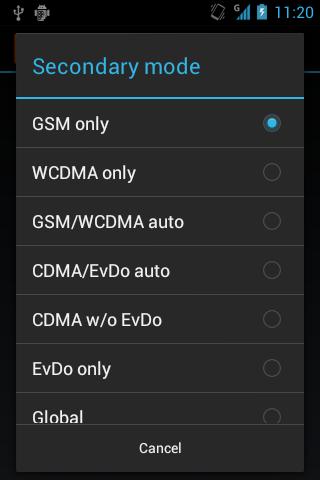 2G Auto Toggle - screenshot