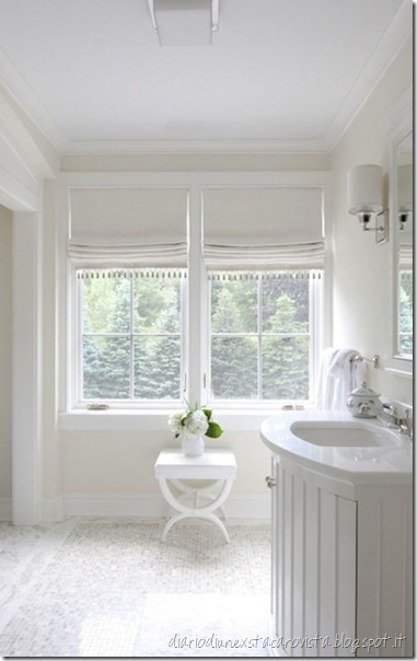 fresh white bathroom by nightingale design from dustjacket