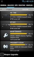 Screenshot of BF3 Stats Premium